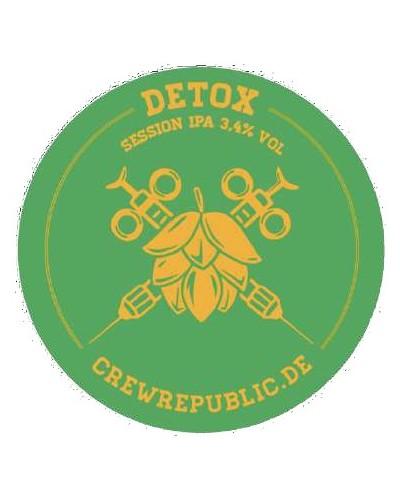 Crew Rep. Detox Ipa 3.4° Kkeg 20L