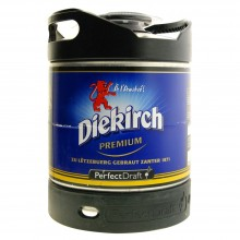Diekirch Prem Perfect Draft Fêt 6L
