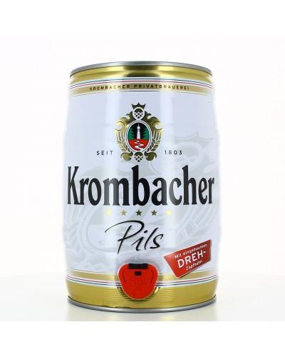 Krombacher Pils 4.8° Fut5L