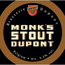 Monk'S Stout Dupont 5.2° - Fut 20L