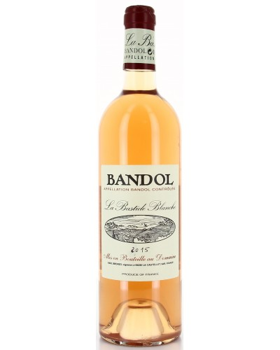 Bandol Rose 75CL Bastideblanche X12