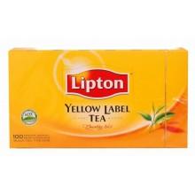 The Yellow Label Lipton 100Sf