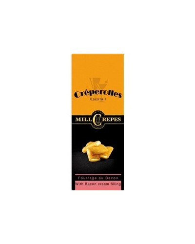 Creperolles Fourrees Bacon 100Gr