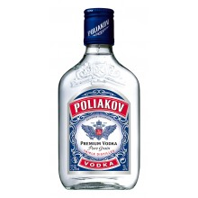 Poliakov Flask Vodka 37.5 ° 20CL