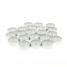 38⌀ Bougie chauffe plat blanche x50