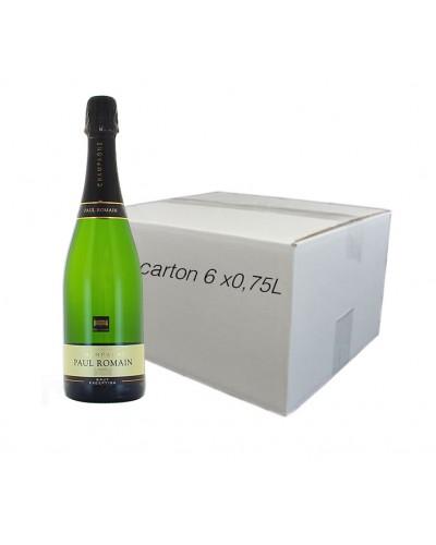 Champagne Paul Romain Brut 75CL X06