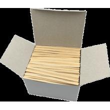 Carton 2 x Boîtes de 1 000  Agitateurs Picking 140 mm bois