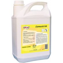 Elemacid HA nettoyant bactericide contact alimentaire 5L