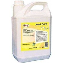 Javel 2.6%  5 litres