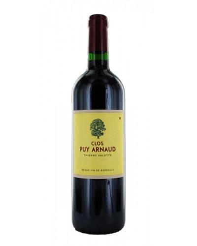 Clos PUY ARNAUD 2016 - 75CL Castillon Cotes Bordeaux Aop