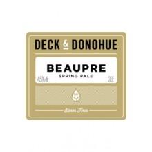 DECK & DONOHUE BEAUPRE 4.5° - FUT 30L