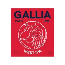 GALLIA WEST IPA 6° - FUT 30L