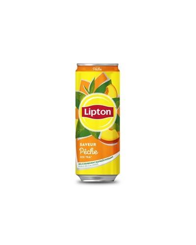 Boite Ice Tea Peche Lipton X24