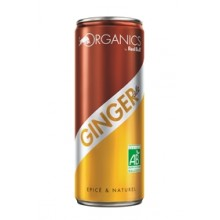 ORGANICS GINGER ALE BOITE 25CL X24