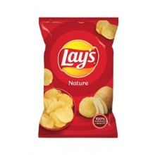 LAY'S CHIPS NATURE 145G X20