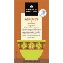 LAROUTE DES COMPTOIRS AGRUMES ROOIBOS 100X01