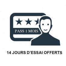 PASS VISITEUR - 14 JOURS GRATUIT