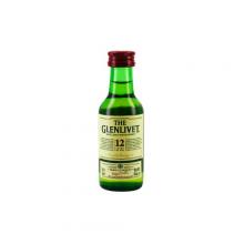 MIGNONETTE GLENLIVET 12ANS 40degre 5CL X01