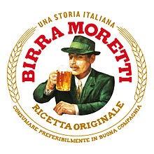 Moretti Blond Lager 4.6° Fut30L