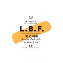 LBF BLONDE PALE ALE 5° - INOX FUT 30L