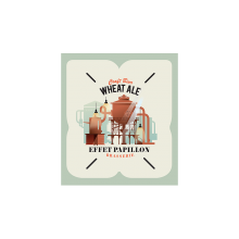 EFFET PAPILLON WHEAT ALE 5.1degre - KEYKEG FUT 30L